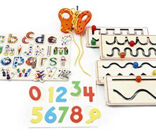 Escrita+enfiamento+puzzle. www.alugarparabrincar.com