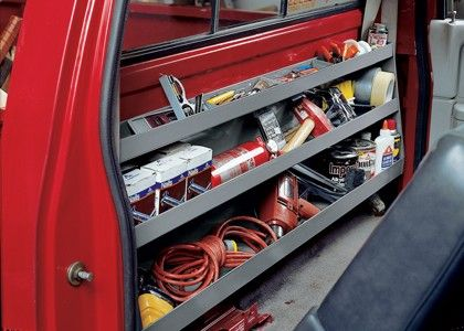Pick-Up Truck Backwall Storage System