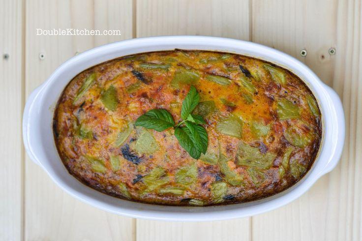 Pranzo con mamma: frittata alla curcuma con taccole e carote (Lunch with mum: curcuma omelette with green beans and carrots) – DoubleKitchen