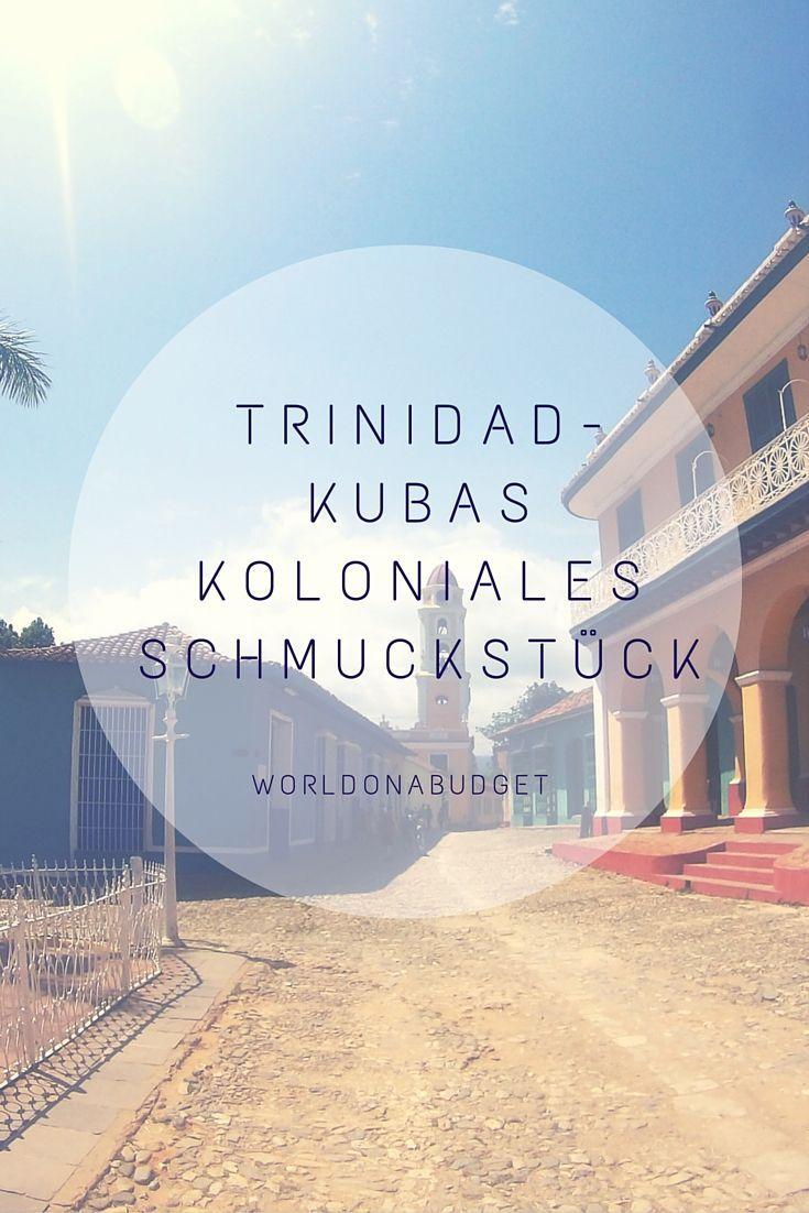 Ein Besuch in #Trinidad ist wie eine #Reise in eine andere Zeit: Kopfsteinpflaster, #Kolonialbauten und #Pferdekutschen prägen das Bild. Der #Strand ist auch nicht weit. Daher ist es für uns auch das #Schmuckstück von #Kuba.