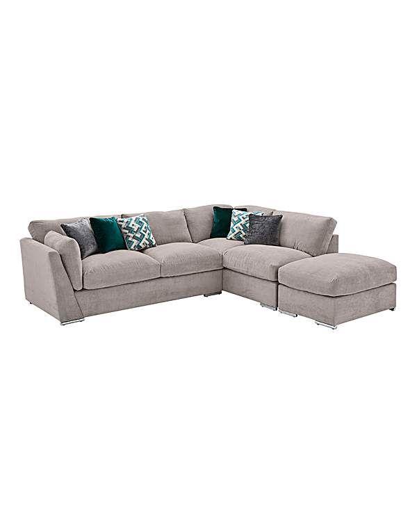 Rubix Right Hand Corner Group With Stool Corner Sofa Units Sofa Furniture Scatter Cushions