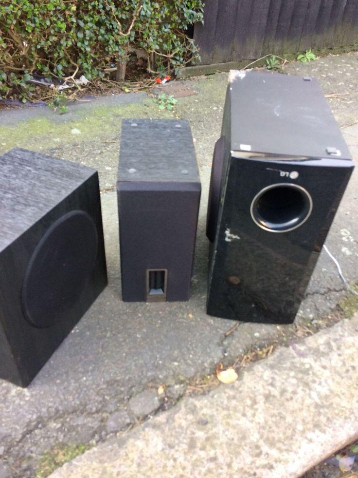 3 small Speakers 4 big speakers