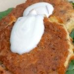 Salmon Cakes {grain-free, freezer friendly}----Almond flour or meal