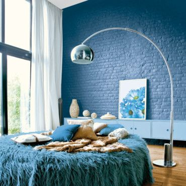 63 best Tendance bleue images on Pinterest Apartments, Bedroom