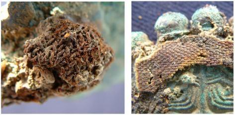 La nécropole mérovingienne d'Erstein (Bas-Rhin) : étude des textiles minéralisés au contact des fibules
