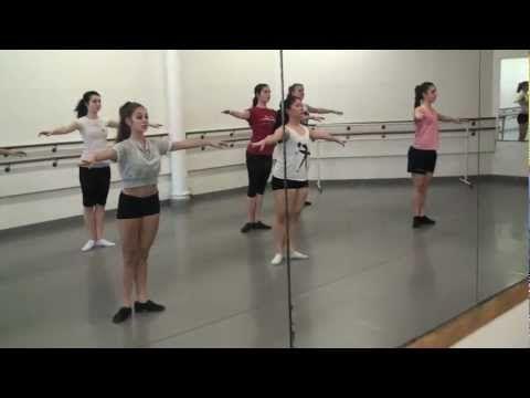 ▶ Ashani Mfuko's Advanced Jazz Class Warm-Up at The Joffrey Ballet School in NYC - YouTube