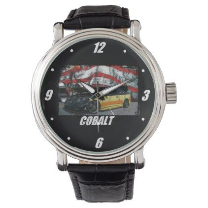 2006 Cobalt SS Wristwatch - accessories accessory gift idea stylish unique custom