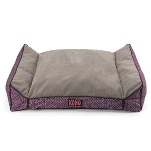 KONG® dog bed in purple. Perfect for Oreo.