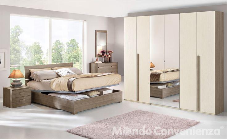 Camera da letto Sirio - Camera completa - Camere complete - Mondo Convenienza - La nostra forza è il prezzo