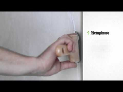 ▶ Come stuccare le crepe su un muro intonacato - Leroy Merlin - YouTube