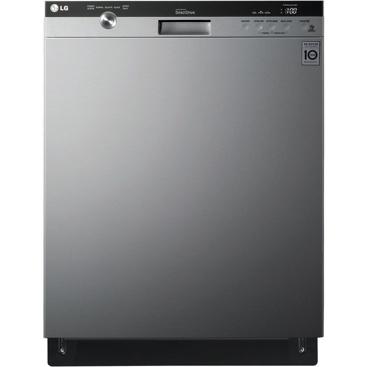 LG 24-inch Semi-Integrated Dishwasher (Stainless Steel (Silver))