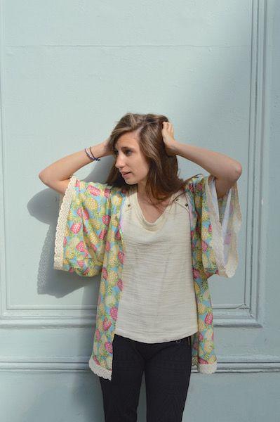 Coudre un kimono à dentelle, c'est simple comme konichiwa ! Le patron et les…
