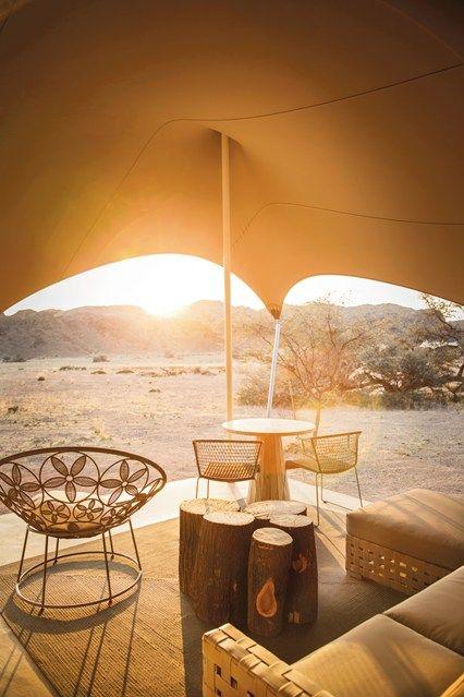 Hoanib Skeleton Coast Camp. Namibia
