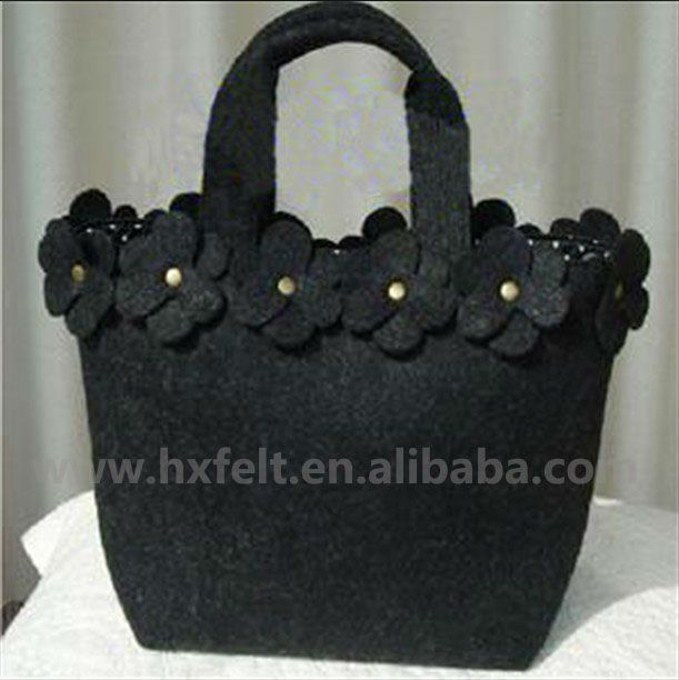 Felt Bag With Handmade Decorations , Find Complete Details about Felt Bag With Handmade Decorations,Felt Bag,Handmade Bag,Bag from Handbags Supplier or Manufacturer-Hebei Huaxing Felt Co., Ltd.