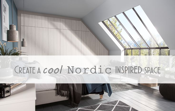 Create a cool Nordic inspired space in your own home.. #scandi #nordic
