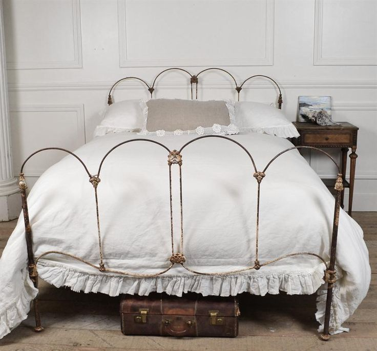 Amelia Antique Iron Bed from Full Bloom