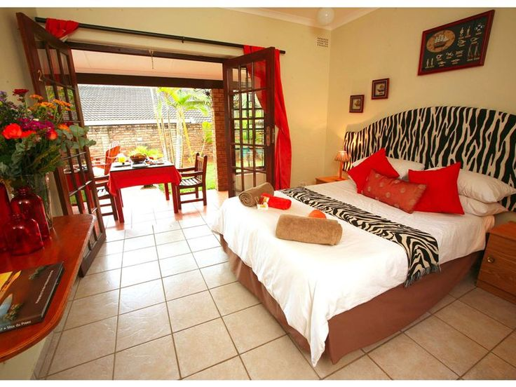 Marlin Lodge St Lucia - Marlin Lodge is located in the suburbs of St Lucia and is a great place to relax and unwind in a beautiful setting. Four of the bedrooms sleep two people and the fifth is ideal for a family, with two bedrooms ... #weekendgetaways #stlucia #zululand #southafrica
