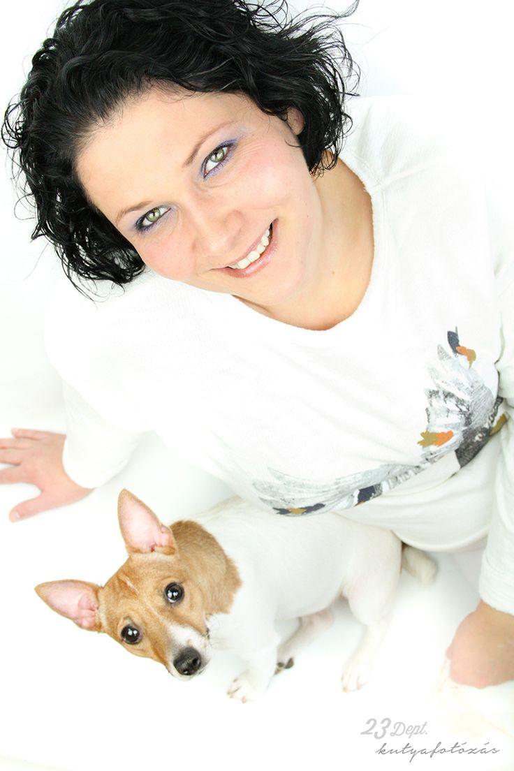 Kutya - gazdi fotózás