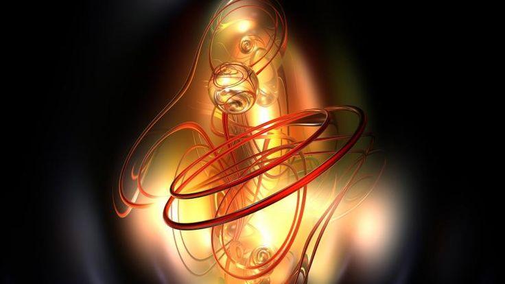Glowing Spheres Circles