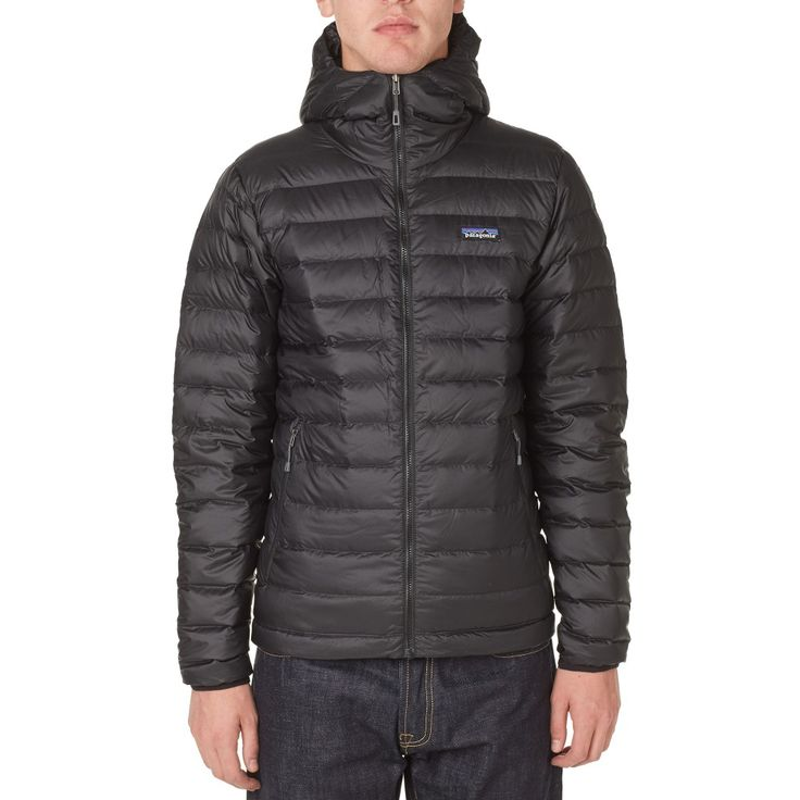 Patagonia Down Sweater Hoody (Black)