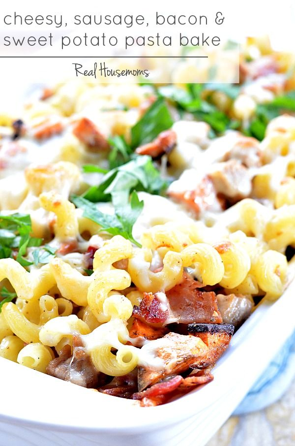 ... Bacon and Sweet Potato Pasta Bake | Recipe | Bacon, Sweet and Sausages