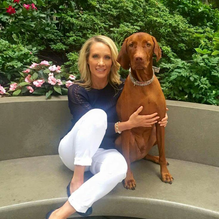 Gorgeous, inside and out, Dana Perino and Jasper.