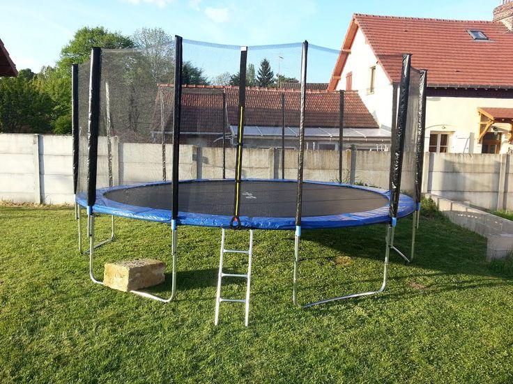 #trampolín #camaelastica #alicesgarden #exterior #juegos #kit430