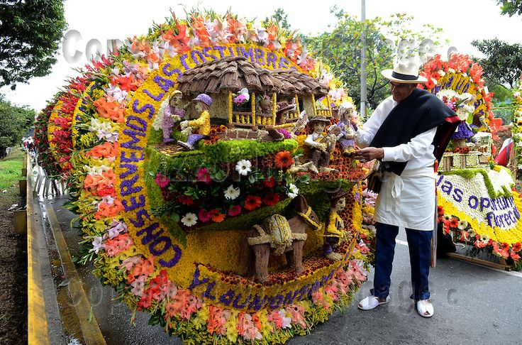 Silleteros are decidedly the stars of the Medellin Flower Festival during the delightful Desfile de Silleteros, the parade through downtown Medellin which is a highlight of Feria de las Flores.  Silleteros today are flower vendors, farmers who carry their colorful wares down from small plots in the majestic mountains around Medellin to sell in squares and markets.