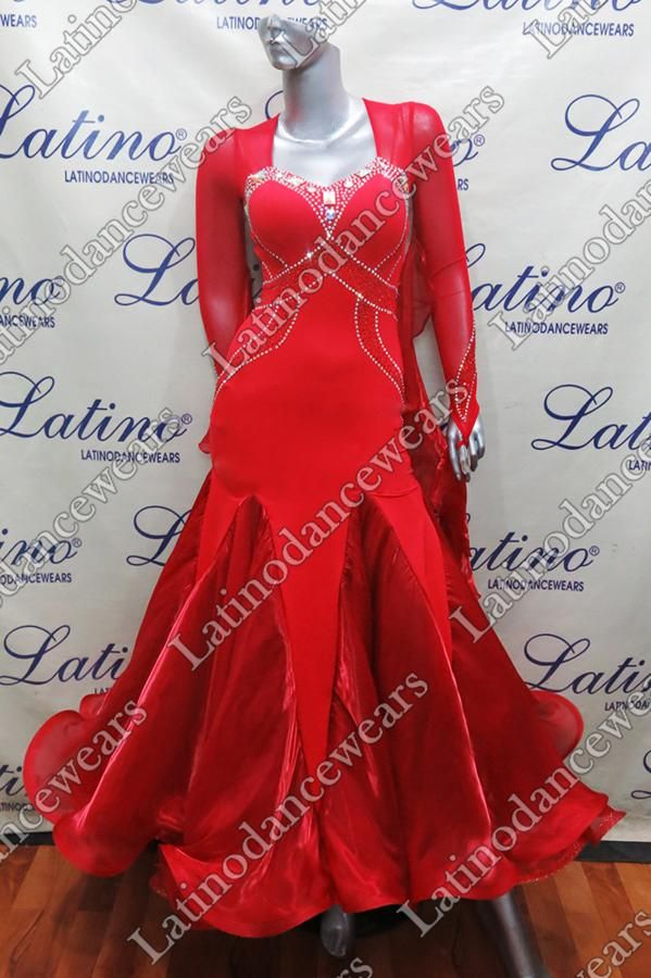 BALLROOM COMPETITION DRESS LDW (ST258) BALLROOM-COMPETITION-DRESS-LDW-ST258 Latino Dancewears