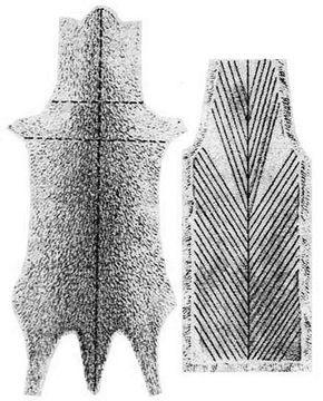 Sable - Схема раскроя и роспуска шкурки соболя