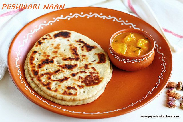 Peshwari naan -recipe