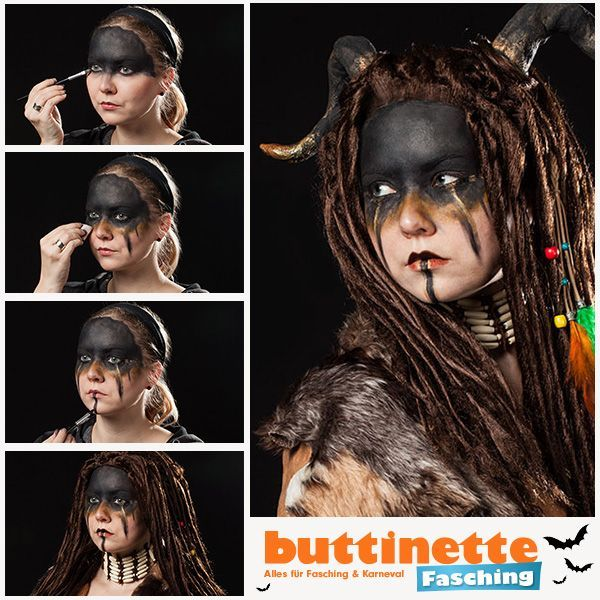 Face Painting Designs In 2020 Tribal Mode Tribal Style Tribales Make Up