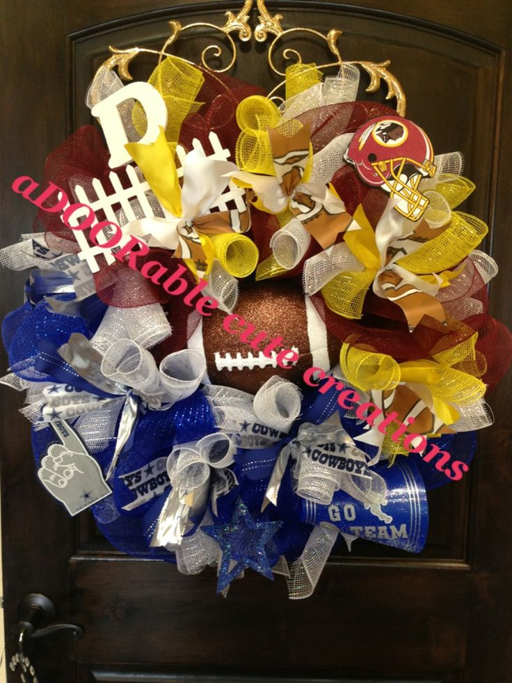 Dallas Cowboys Wreath Vs Washington Redskins Wreath House