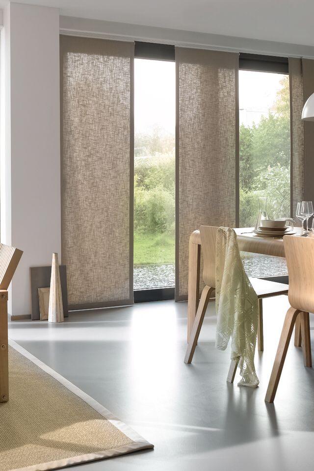 25 beste idee n over paneelgordijnen op pinterest - Scheiding in hout deco interieure ...