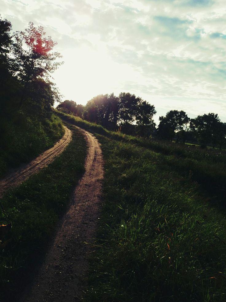 Summer Road <3 Sunset