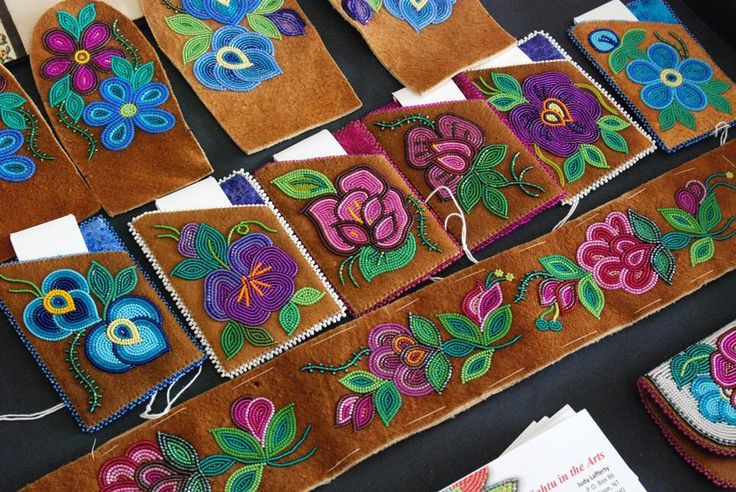 Judy Lafferty | NWT Arts. Gorgeous beadwork by this accomplished artist.