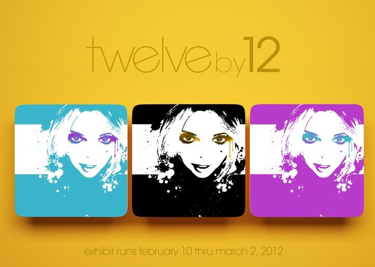 twelveby12 - Artserve's upcoming exhibit