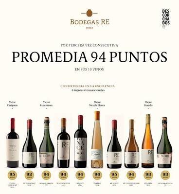 Resultado de imagen para mejores vinos chilenos 2017