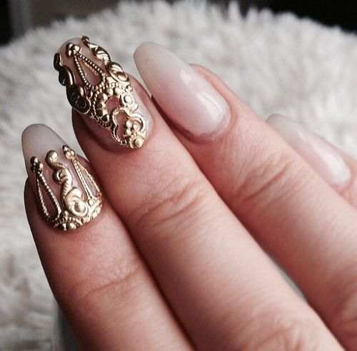 These nails will match my room