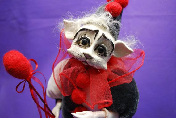 Hey, I found this really awesome Etsy listing at https://www.etsy.com/listing/243932153/handmade-dolls-collector-dolls-circus