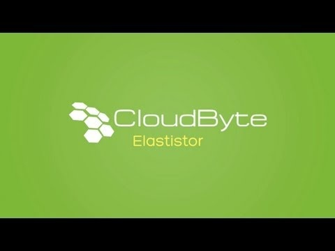 CloudByte Elastistor  Designed for virtualized environments, CloudByte ElastiStor redefines storage endpoints beyond capacity to storage performance (IOPS, throughput, and latency). Applications with diverse workloads can now be hosted with guaranteed performance on a single extensible shared storage platform, resulting in cost savings of 80-90% (vs. legacy solutions which require fragmented storage islands)