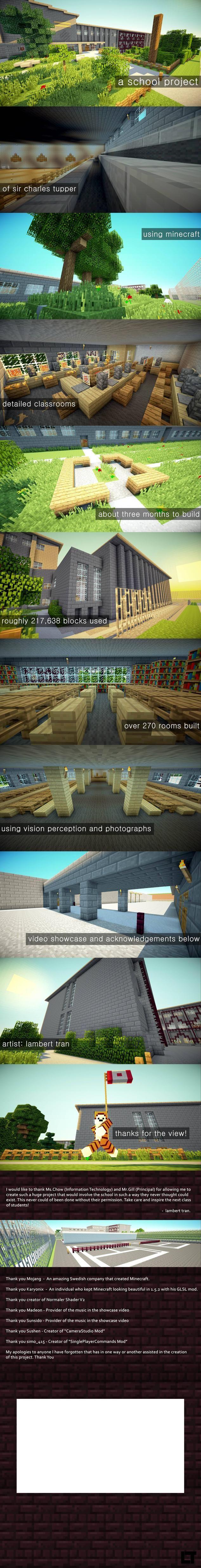 Minecraft School Project - Imgur