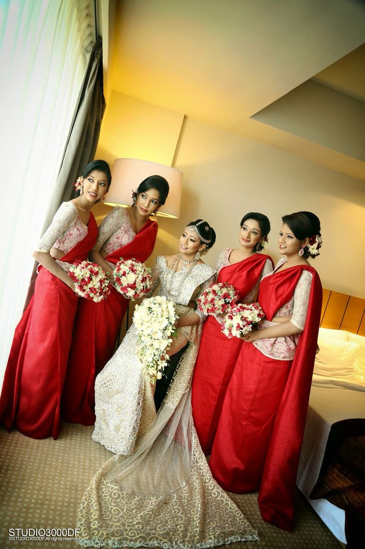 Pin by my sri lankan wedding on bridal party pinterest for Wedding party dresses in sri lanka