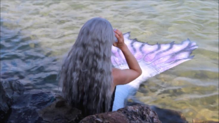 MERMAIDS ARE REAL: Mermaid Found Swimming near shore #mermaids #realmermaids #real #mermaid #swimming #silicone