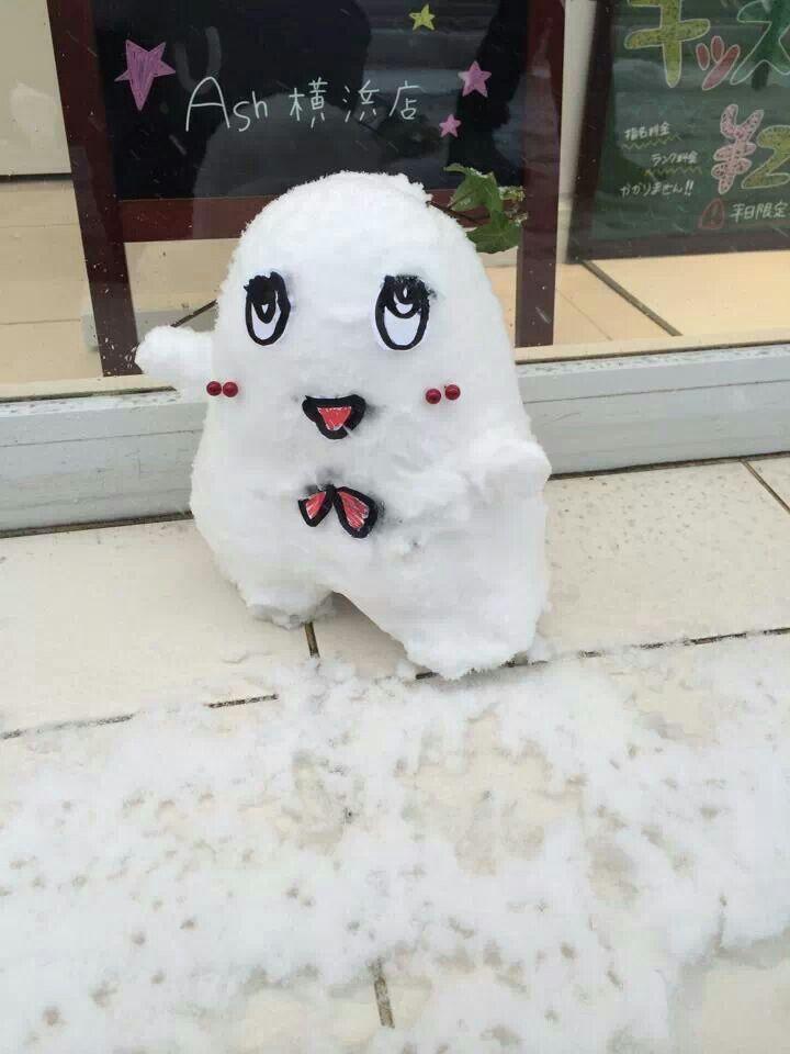 最近雪ばかり
