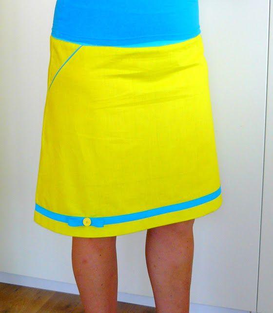 hilde@home: Geel geel geel ... ided, patroon s zsazsa