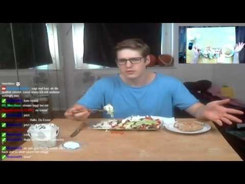 Türkischer Salat | MukBang Deutsch  [Live Twitch] eatingshow HTLL