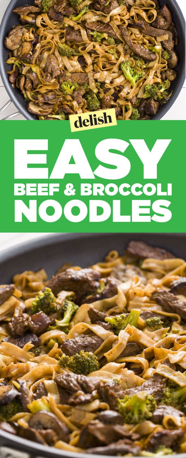 Skinny Beef & Broccoli Noodles
