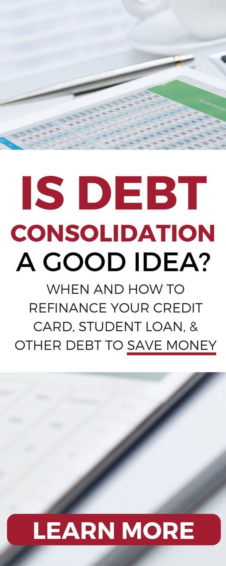Personal Loans For Debt Consolidation A Good Idea Credit Card Debt Relief Debt Relief Programs Debt Consolidation