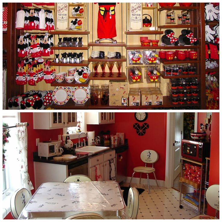 207 best disney dream kitchen images on pinterest mickey for Mickey mouse kitchen accessories